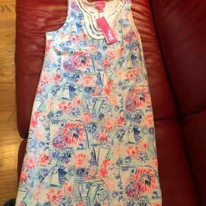 Girls terry Lilly Pulitzer - summer print!
